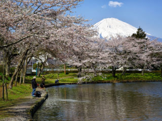 東山湖はルアーやフライフィッシングを楽しめる事で有名