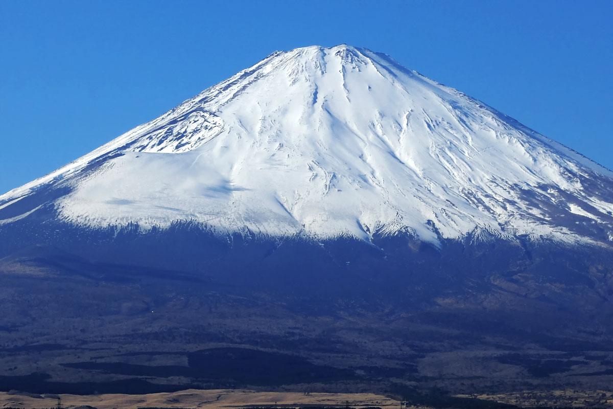 2019年1月御殿場富士山
