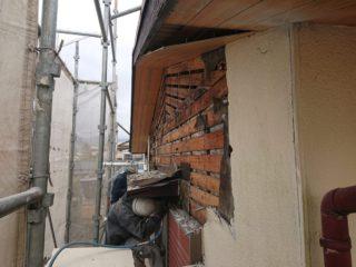 外壁・軒天改修工事