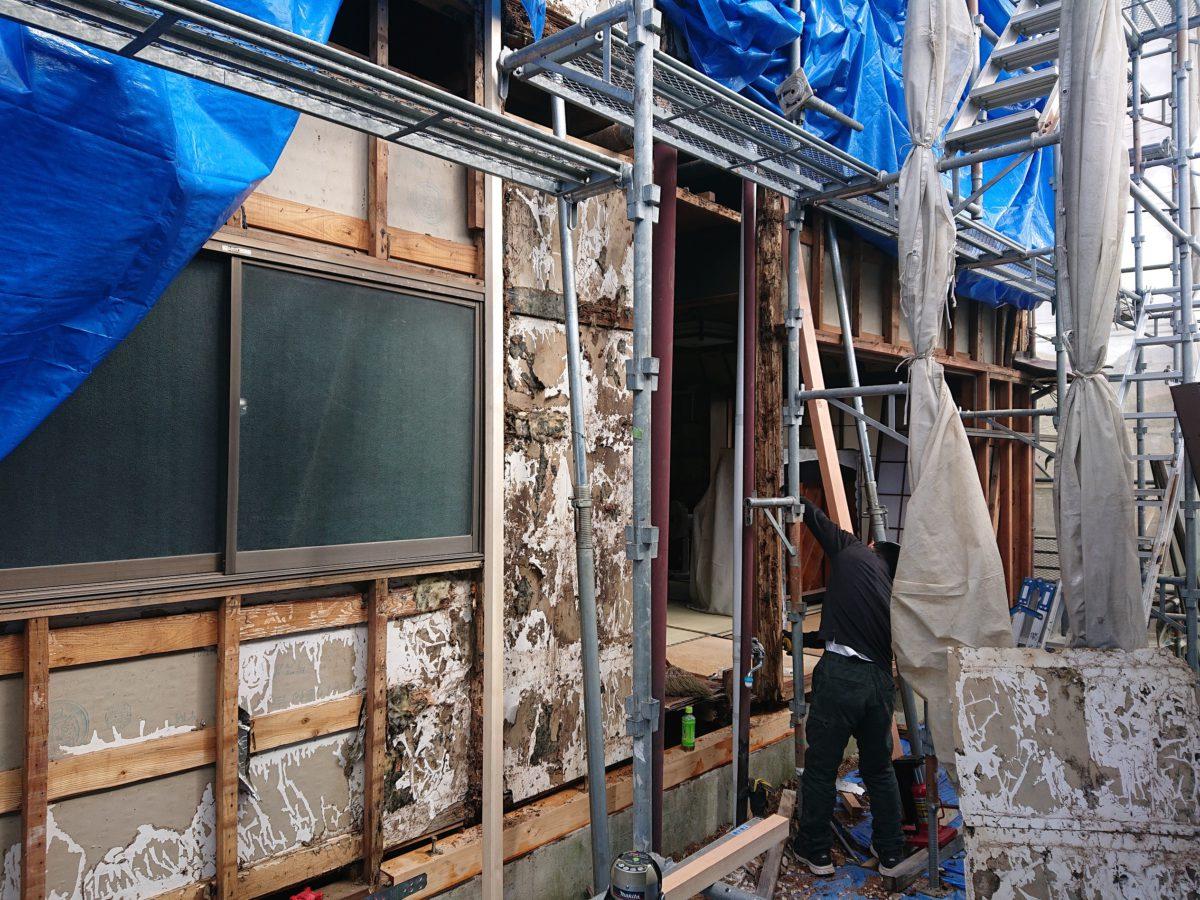 御殿場市壁屋根修繕工事