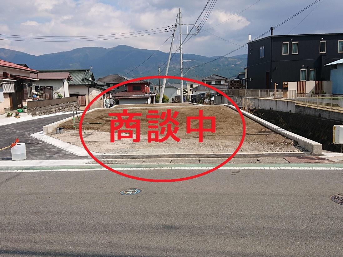 川島田分譲地商談中